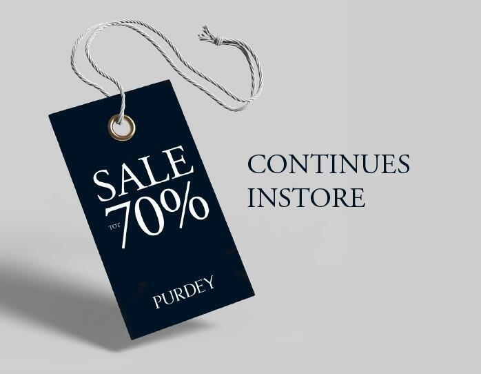 sale continues instore